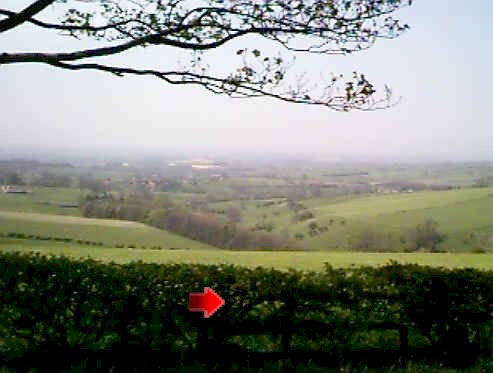 View over Vale of York