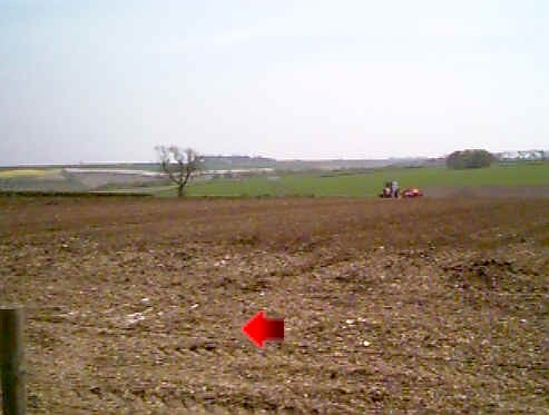 Past Martinholme farm - sowing potatoes